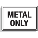 Seton 92299 Dumpster Signs- Metal Only