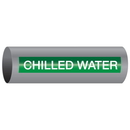 Xtreme-Code 93328 Xtreme-Code Self-Adhesive High Temperature Pipe Markers - Chilled Water