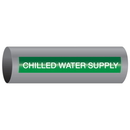 Xtreme-Code 93334 Xtreme-Code Self-Adhesive High Temperature Pipe Markers - Chilled Water Supply
