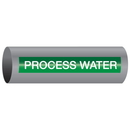 Xtreme-Code 93472 Xtreme-Code Self-Adhesive High Temperature Pipe Markers - Process Water