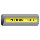 Xtreme-Code 93475 Xtreme-Code Self-Adhesive High Temperature Pipe Markers - Propane Gas