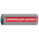 Xtreme-Code 93499 Xtreme-Code Self-Adhesive High Temperature Pipe Markers - Sprinkler-Water