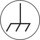 Seton 94784 Electrical Symbol Labels-On-A-Roll - Ground Symbol