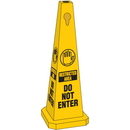 Seton Safety Traffic Cones- Restricted Area Do Not Enter - 95209