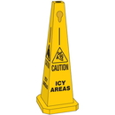 Seton 95213 Safety Traffic Cones - Caution Icy Areas