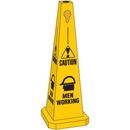 Seton 95214 Safety Traffic Cones- Caution Men Working