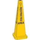 Seton 95219 Safety Traffic Cones- Restricted Area, Size: 25