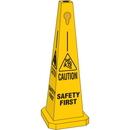 Seton 95221 Safety Traffic Cones- Caution Safety First
