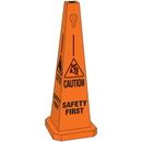Seton Safety Traffic Cones- Caution Safety First - 95223