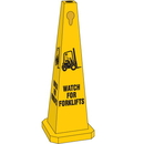 Seton 95226 Safety Traffic Cones- Watch For Forklifts