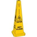 Seton 95228 Safety Traffic Cones- Caution Wet Floor