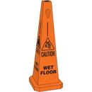Seton 95230 Safety Traffic Cones- Caution Wet Floor
