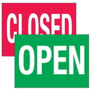 Seton 96182 Traffic Cone Signs - Open/Closed