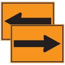 Seton 96183 Traffic Cone Signs - Arrows