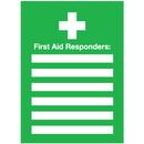 Seton 96438 First Aid Responders Emergency Frame