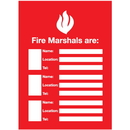 Seton 96441 Fire Marshals Emergency Frame With Photo Inserts