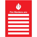 Seton 96446 Fire Wardens Emergency Frame