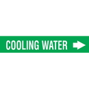 Seton 97333 Wrap Around Adhesive Roll Markers - Cooling Water