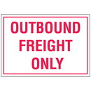 """Seton Warehouse Floor Markers- """"outbound Freight"""""""