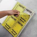 Seton 97862 Parking Permit Log Book