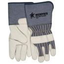 Memphis BB688 MCR Memphis Mustang Premium Grain Leather Palm Gloves, Size: Large