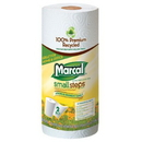 Marcal Marcal Small Steps 100% Premium Recycled Perforated Maxi Roll Out Towels - CC659