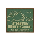 5ive Star Gear 6661000 Pvc Morale Patch - Think Outside No Box