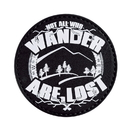 5ive Star Gear 6662000 Pvc Morale Patch - Glow - Not All Who Wander