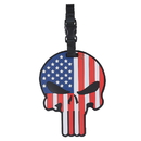 5ive Star Gear 6674000 Patriotic Punisher Luggage Tag