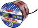 CABLE12BLACK Speaker Cable 12Ga. 500' Audiopipe;Red + Black