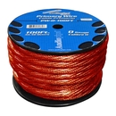 PW0100RD Power Wire 0Ga. 100' Red Audiopipe