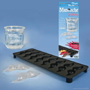 Accoutrements ACC-12297-C Mustache 8 Slot Ice Cube Tray