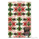 Accoutrements ACC-12654-C Krampus Gift Wrapping Paper, Set of 2