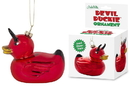 Accoutrements ACC-12733-C Devil Duckie Glass Holiday Ornament