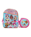 Accessory Innovations LOL Surprise! Gangs All Here 16-Inch Girl's Backpack w/ Lunch Tote