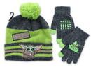 Accessory Innovations AIC-F20MN47129-C Star Wars The Mandalorian The Child Winter Beanie & Glove Set, Grey & Green