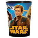 Amscan Star Wars Han Solo 16oz Plastic Party Favor Cup