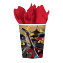Amscan AMS-581716-C The LEGO Ninjago Movie 9oz Paper Cups, 8 Count