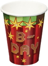 Amscan TNT Party 9oz Paper Party Cups, 8-Pack