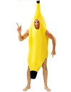 Angels Costumes Banana Adult Costume, One Size