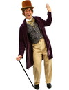 Angels Costumes Willy Wonka Classic Chocolate Man Adult Costume, Standard