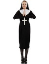Angels Costumes Nun Adult Costume, One Size
