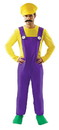 Angels Costumes Bad Plumber Men's Costume X-Large