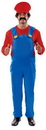 Angels Costumes Super Plumber Plus Size Costume 3XL