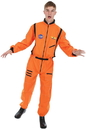 Angels Costumes Men's Orange Astronaut Costume - Standard