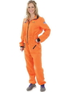 Angels Costumes Women's Orange Astronaut Costume