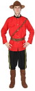 Angels Costumes Canadian Mountie Men's Costume - Standard