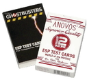 Anovos Productions Ghostbusters Superior Quality ESP Test Card Game