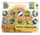 Anker Play ARP-02146-C Fossil Adventures 10-in-1 Treasure Excavation Kit