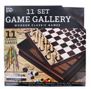 Anker Play ARP-220033-C Family Game Gallery   11 Wooden Classic 2-Player Games